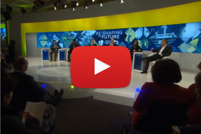 Video: Matsi Modise on Education at Davos 2016 The 21st Century Dream